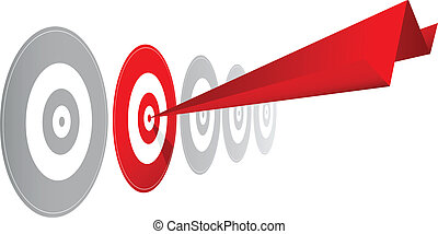 choosing the right winning target option - rd paper dart in...
