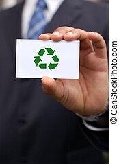 verde, negócio