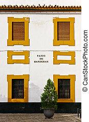 Sevilla - Patio de Banderas, Sevilla, Spain