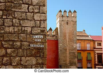 Sevilla - Plaza del Triunfo, Sevilla, Spain