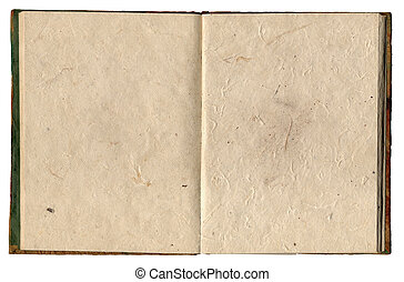 Rice Paper Notebook - Open Nepal Notebook Made Of Rice Paper