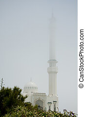 Mosque in the Mist
