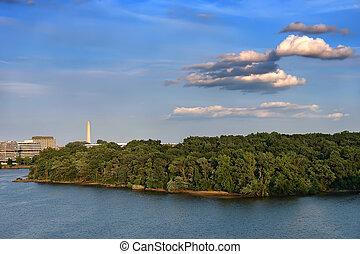 Potomac river, Washington DC