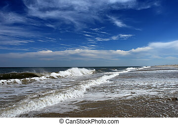 Beach, Atlantic ocean - Atlantic ocean, MD, USA