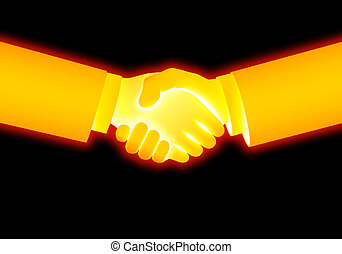 handshake - business image