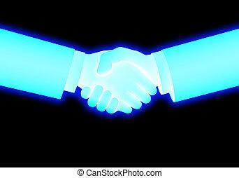 handshake - business image