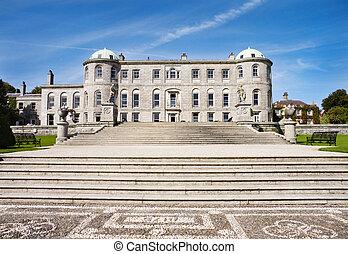Powerscourt Mansion - Ireland - Powerscourt Castle -...