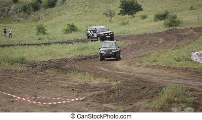 Extreme racing jeep - Jeep ride to race on impassable...