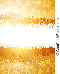 A gold and yellow sparkle card background EPS 8 - A gold and...