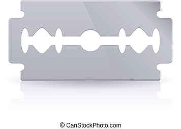 Blade isolated on the white background for design
