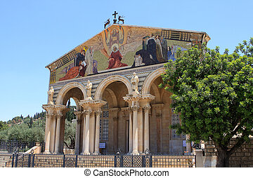 The Church of All Nations,Jerusalem - The Church of All...