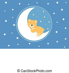 bear on the moon