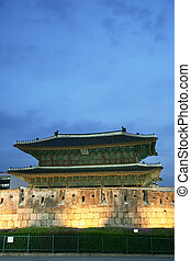 East gate of Seoul - Seoul, Capital of South Korea, has 8...