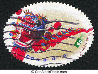 postage stamp - CANADA - CIRCA 1999: stamp printed by...