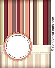 Scrapbooking template - Vector template for scrapbooking...