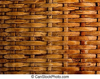 background straw texture old wicker