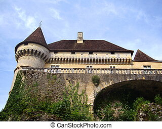 Chateau de Losse in the Dordogne, France