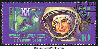 postage stamp - RUSSIA - CIRCA 1983: stamp printed by...
