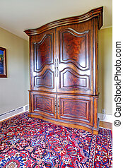 Antique large closet furniture