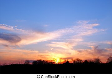 Central Illinois Sunset