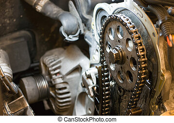 Auto repair shop. - auto parts, auto repair shop, part of a...