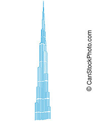Burj Khalifa Tower - Dubai - Highest Buildings