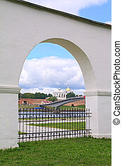 old-time arch