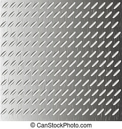Abstract background as corrugated metal Vector illustration...