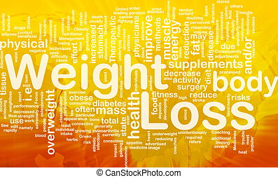 Weight loss background concept - Background concept...