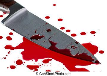 sangre, salpicadura