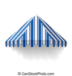 Awning - Vector illustration of an awning