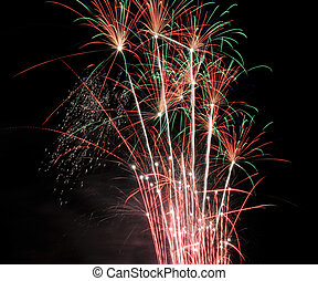 4th of July Fireworks in Salem - Dazzling display of 4th of...