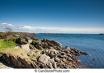Islay coastline - View of Islay coastline