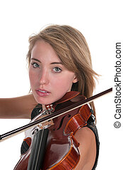 Violin - Girl playing violin