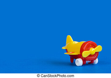 Plastic airplane toy