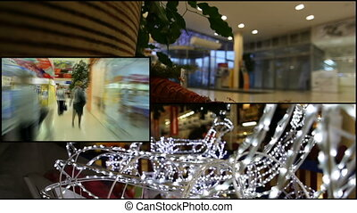 Collage store - Video collage of life in the store during...