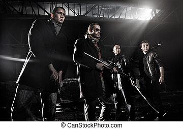 Gangster members