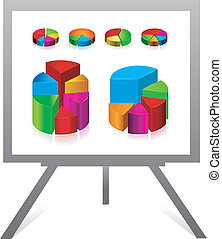 Flip chart and graph