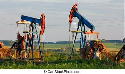 two working oil pumps