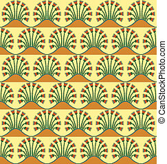 Egyptian Motif seamless2 - An Egyptian style motif repeated...