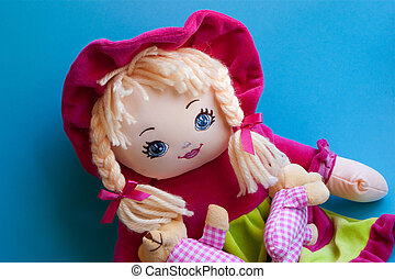Rag Doll - A childs colourful rag doll