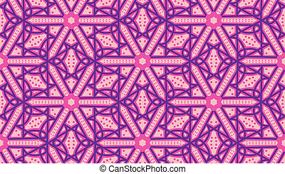Seamless Arabic Pattern