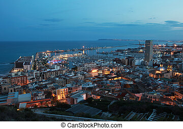 Alicante Alacant - Overview of the Spanish town of Alicante...