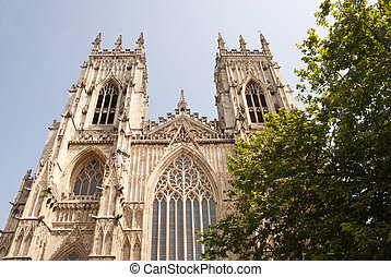 York Minster West View