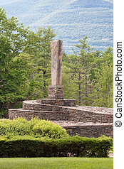 Opus 40 - On the National Register of Historic Places, this...
