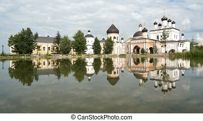 Famous russian monastery