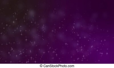 star field - a animated video of stars at various sizes...
