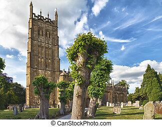 St James church in Chipping Campden, Cotswolds, UK