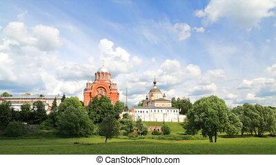 Pokrovsky Convent timelapse - Pokrovsky Convent in Khotkov...