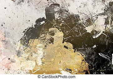 background grunge created by using different photographs and...
